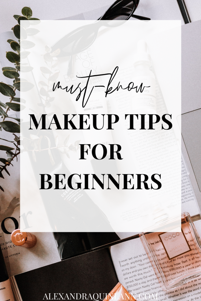 must-know makeup tips for beginners