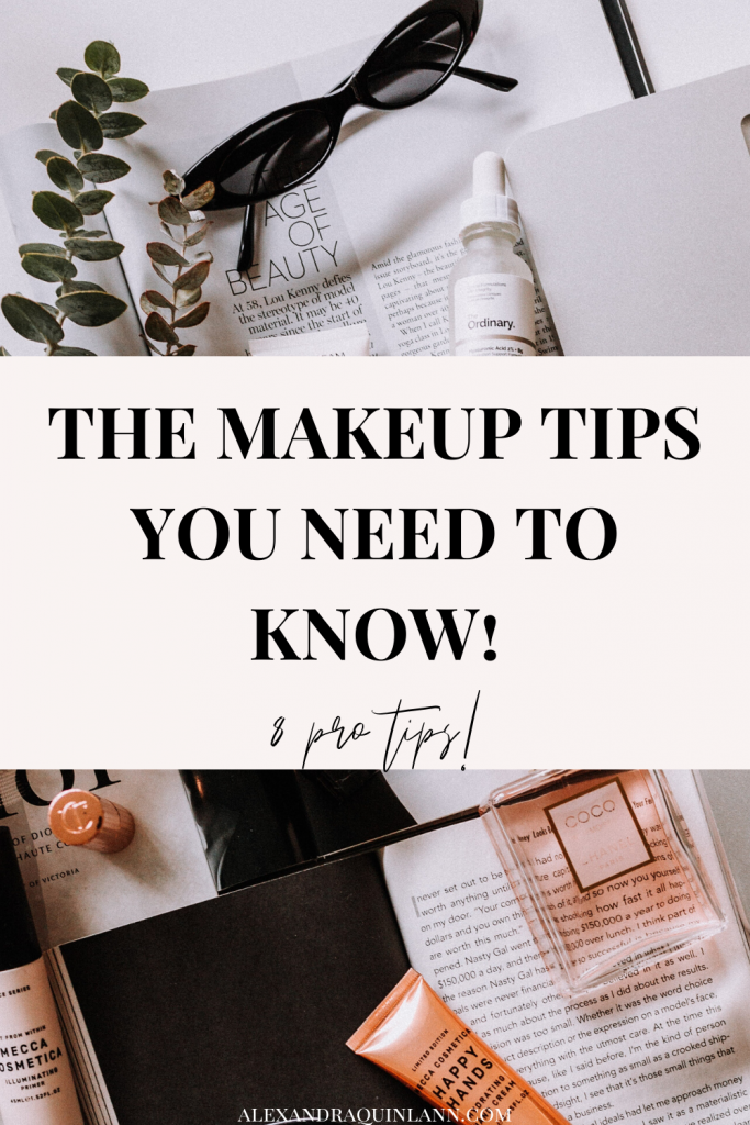 the makeup tips you need to know! Perfect for beginners!