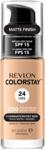 revlon colorstay drugstore foundations for oily skin