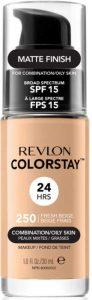 revlon colorstay drugstore foundations for oily skin