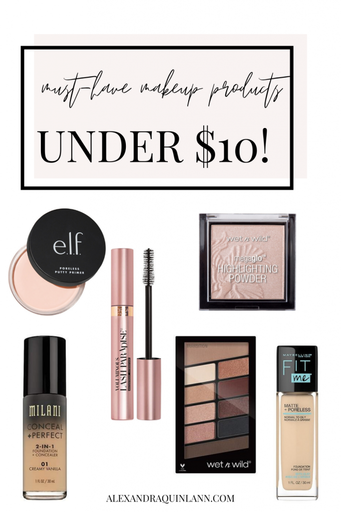 must-have makeup products under $10