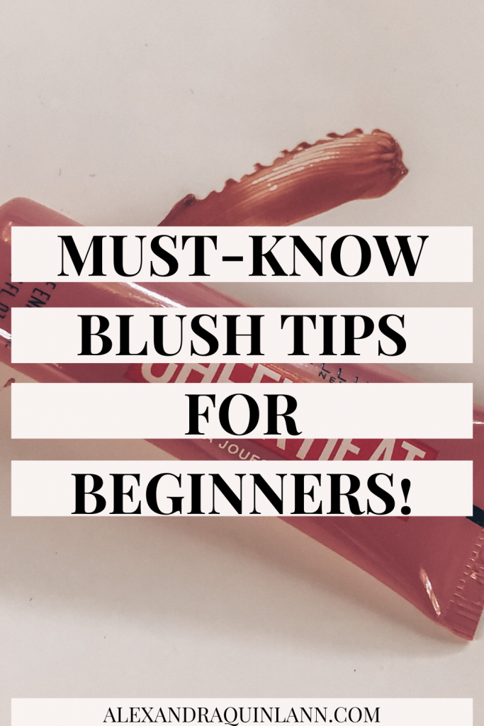 must-know blush tips for beginners