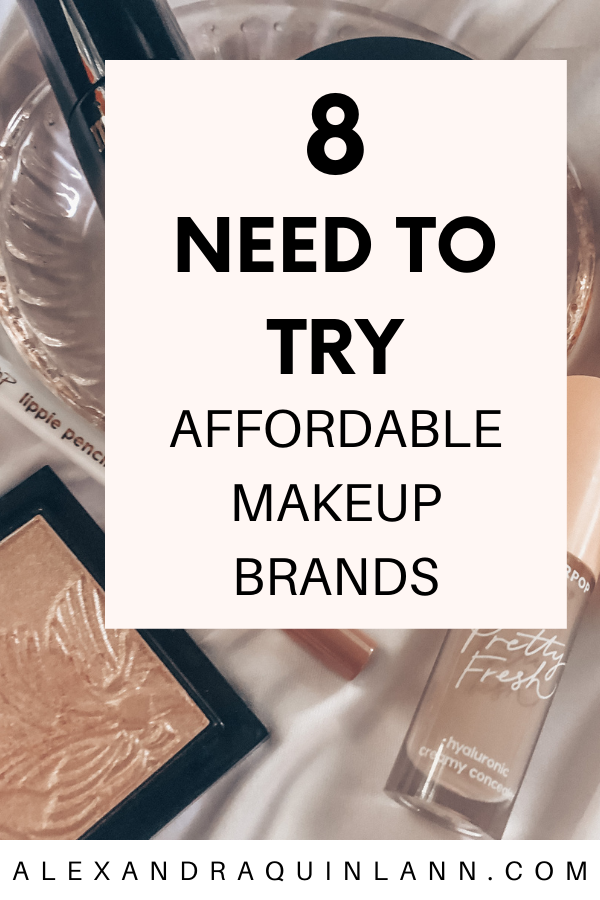 need to try affordable makeup brands
