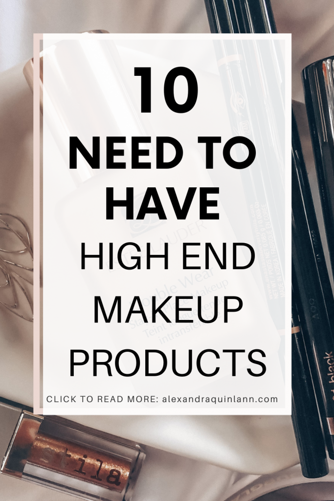 10 need to have best high end makeup products