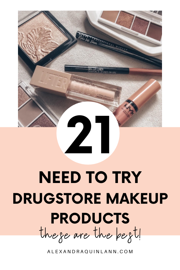 21 need to try drugstore makeup products!